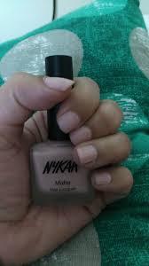 Light Pink Matte Nail Polish Nykaa Matte Nail Lacquer Pink Meringue 28 Review Nails