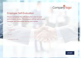 Self Evaluation Sample Template | Employee Assessments