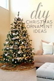 DIY Christmas Ornament Ideas...see how one blogger decorated her entire tree  for