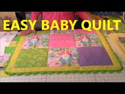 Easy Baby Quilt - YouTube & Easy Baby Quilt Adamdwight.com