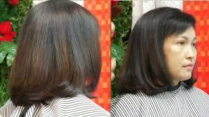 Bob Haircut Tutorial ตดผมบอบ ปลายงม Best Hairstyles