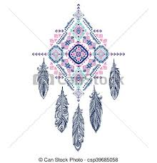 What Are Dream Catchers Used For Best Vector aztec mexican tribal ornament dream catcher african ethnic