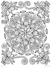 Coloring Pages Ideas Lmj Coloring Page Spring Mandalalower Pages To