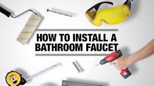 install new bathroom faucet video. how to install a bathroom faucet new video