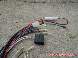 honda cb100 cl100 cb125s cl125s wire wiring harness new wire harness honda cb100 cl100 cb125s cl125s part number 32100 107 781 brand new part reproduct 15 shipping cost to worldwide
