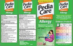 Pediacare Childrens Allergy Diphenhydramine Hydrochloride