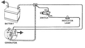 10si and 15si type 116 136 alternator repair manual figure 4 typical external circuit
