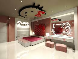 Luxury Ideas For A Hello Kitty Bedroom With Modern Vanity With Mirrors And Cool  Lighting Ideas