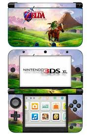Nintendo 3ds Game Charts Zelda Ocarina Of Time Game Skin For Nintendo 3ds Xl Console
