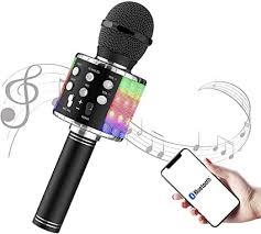Karaoke Microphone - FLYBEBE Karaoke Wireless ... - Amazon.com