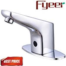 motion sensor faucet. Fyeer Automatic Sensor Touchless Faucet, Motion Activated Hands-Free Bathroom Vessel Sink Tap, Faucet O