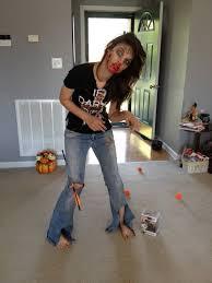 walking dead zombie makeup for pumpkin s 2016