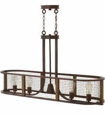 hinkley lighting 4825ir beckett iron rust 5 light chandelier undefined