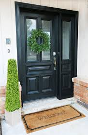best front door makeover ideas on exterior for updating my curb appeal by painting