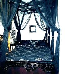 Black Canopy Bed Curtains Captivating With Bedroom Furniture Sets Ca ...