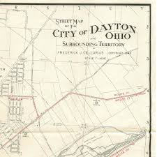 1945 map of dayton, ohio Dayton Map Dayton Map #28 dayton mapquest