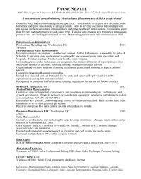 Medical Sales Resume Examples Best Pharmaceutical Sales Resume ...
