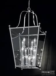 franklite atrio 12 light chrome lantern pendant ceiling fitting la7003 12