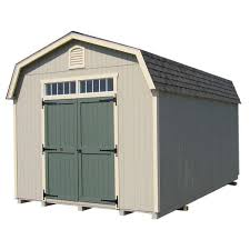 24 ft wood storage building diy kit
