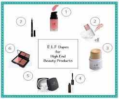 list of makeup s 7 dupes elf dupes makeup dupes elf makeup best makeup hair makeup face diy makeup makeup