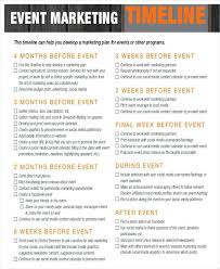 Event Timeline Template Free Marketing Plan Pdf – Imaginarapp