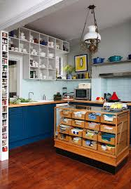creative kitchen ideas. View In Gallery Repurposed Haberdashery Cabinet Turned Into A Stunning Kitchen Island [From: Alison Hammond Photography] Creative Ideas