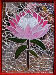 paper mosaic flower