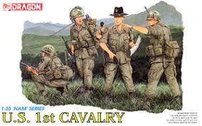 Us Army Cavalry Us 41 87 1 35 Scale Model Dragon 3312 Us Army 1st Cavalry Division