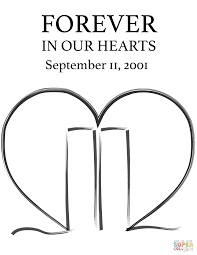Small Picture Forever In Our Hearts And September 11 Coloring Pages glumme