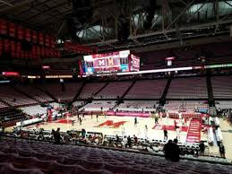 Xfinity Center Maryland Section 115 Row 14 Seat 4 Home