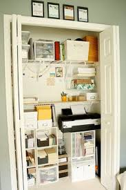 office storage closet. Small Office/craft Closet - I Need To Do This Our Office Closet. Storage