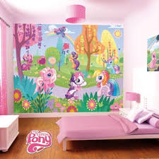 Perfect My Little Pony Bedroom Decoration | ... Kids Bedroom Decoration Idea With  Cute My