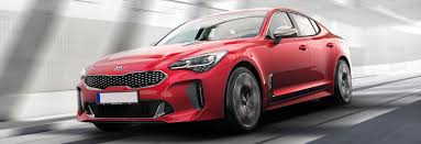 2018 kia stinger price. beautiful stinger red kia stinger gt front driving shot inside 2018 kia stinger price e