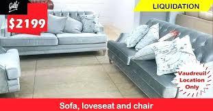 outdoor furniture liquidation