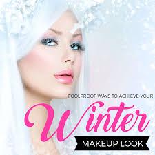 foolproof ways to achieve your winter makeup look