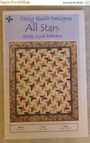 Clearance SALE Pattern, All Stars by Cozy Quilt Designs, for 2 1/2 ... & Clearance SALE Pattern, All Stars by Cozy Quilt Designs, for 2 1/2