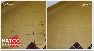 remove the old grout and install new grout before after regrouting tile countertop