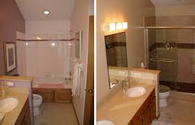 Small Bathroom Remodels Pictures Before And After Home Decorations - Remodeled bathrooms before and after