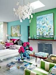 ... Wall color mint green gives your living room a magical flair Mint green  and light green go ...
