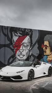 ... Lamborghini Huracán LP 610-4 Spyder, Bodykit, Graffiti, Bowie, White (  S