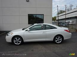 2005 Toyota Solara SLE V6 Coupe in Arctic Frost Pearl White ...