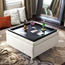cloth ottoman coffee table topic to beautiful living rooms with ottoman coffee tables blue fabric