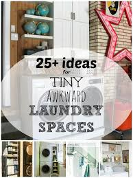 tiny for ideas space small laundry room storage awkward hanging decoration manufacturing
