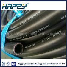 oil resistant flexible rubber hose with peive