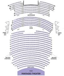 Pantages Seating Chart View Tacoma City Ballet