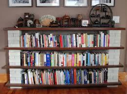 Wall Mounted Bookshelf Designs Bookshelves For Small Bedrooms How