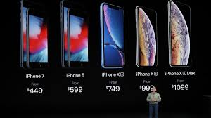 Iphone Pricing The New Iphone Xr Iphone Xs Iphone Xs Max