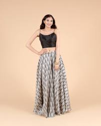 Spaghetti Blouse Designs Elegant Indian Fusion Outfit With A Chic Spaghetti Strap