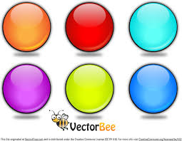 Rounded Vector Glossy Button Free Vector In Adobe Illustrator Ai