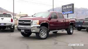 2008 Chevrolet Silverado 2500HD LT2 Red Duramax Leveled - Utah ...